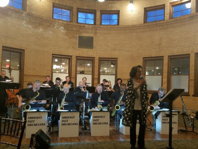 Dave Sporny's Amherst Jazz Orchestra at Union Station Grand Ballroom
