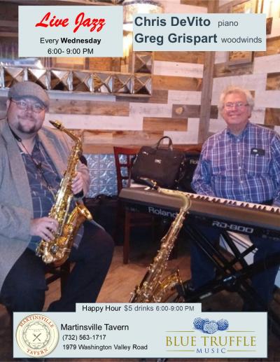 Chris Devito And Greg Grispart Duet at Martinsville Tavern