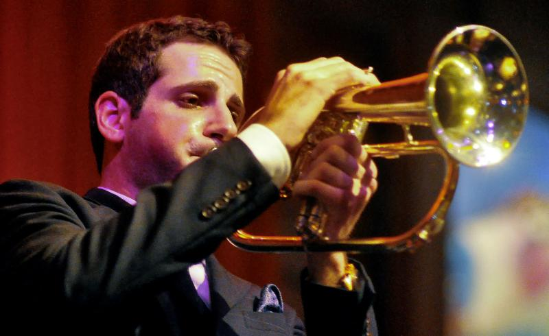 Dominick Farinacci Sextet: Half Moon Bay, CA, April 1, 2012