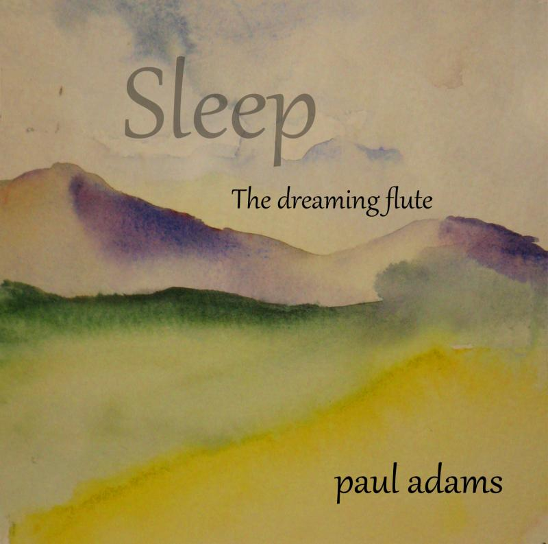 Paul Adams Album Sleep The Dreaming Flute Chosen Native Flute Album Of The Year By The Zone Music Reporter