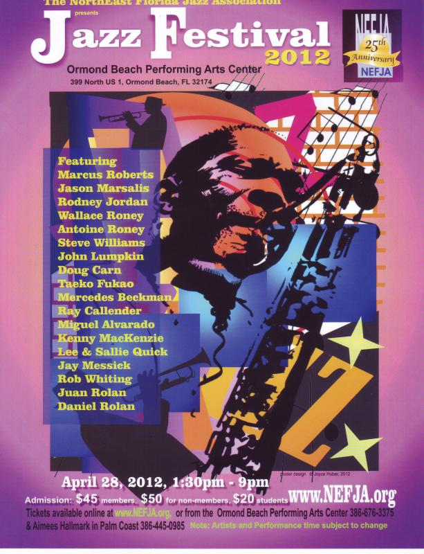 North East Florida Jazz Association To Host Jazz Festival