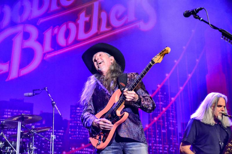 The Doobie Brothers with special guest Mark Newman at the Paramount