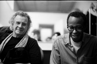 Matthew Shipp / Michael Bisio Duo at Deanne Carriage Barn, Bennington College