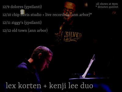 Lex Korten + Kenji Lee at Ziggy's