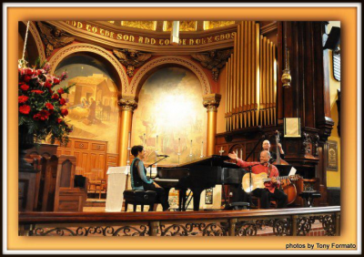Minas Trio at Church Of The Holy Trinity Rittenhouse Square
