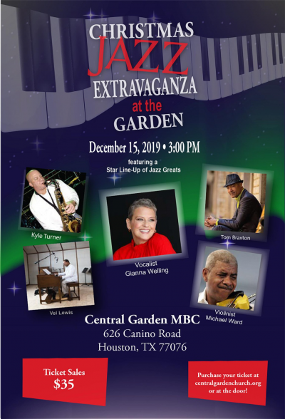 Christmas Jazz Extravaganza At The Garden at Central Garden Missionary Baptist Church