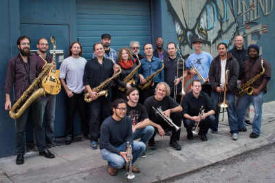 Electric Squeezebox Orchestra  at California Jazz Conservatory