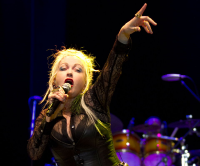 Cindy Lauper With Orchestra at Hollywood Bowl