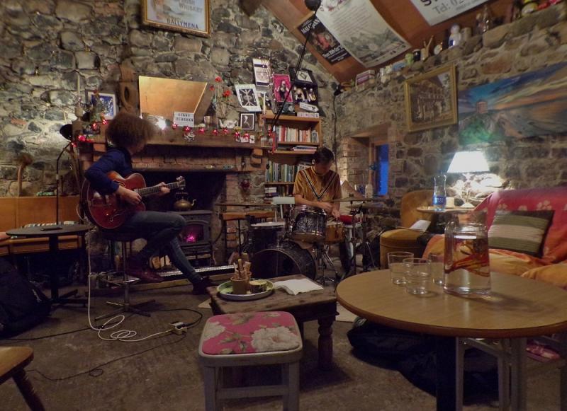 David Lyttle & Joseph Leighton at Keady Clachan