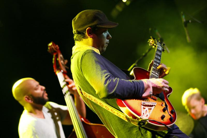 Kurt Rosenwinkel, Charles Lloyd and Chucho Valdes at the Barcelona Jazz Festival
