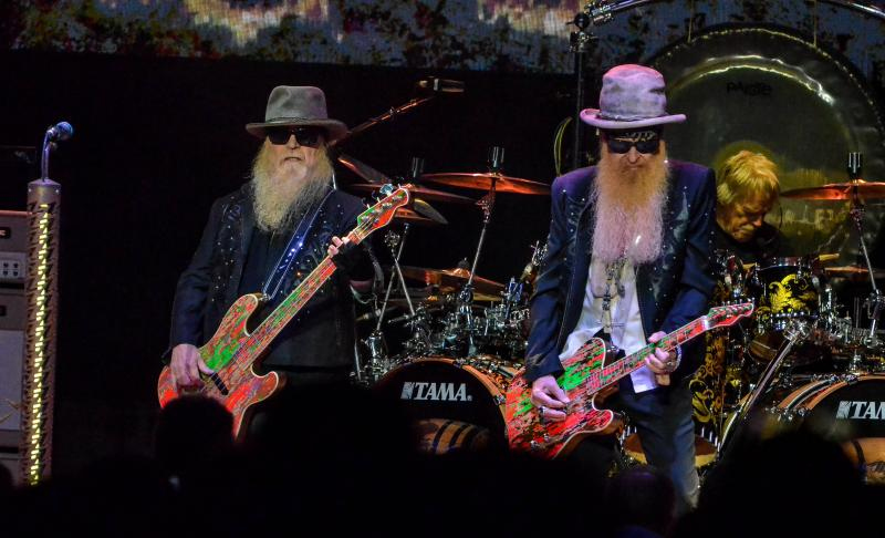 ZZ Top and Cheap Trick with special guest Marquise Knox at the Northwell Health at Jones Beach Theater