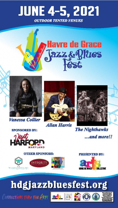 Maryland Rising Stars-clarence Ward Iii & Irene Jalenti at Havre De Grace Jazz & Blues Fest at The Wilburn Company 'headliners' Stage At Concord Point