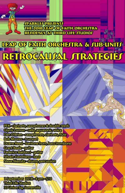 Leap Of Faith Orchestra & Sub Units at Third Life Studio