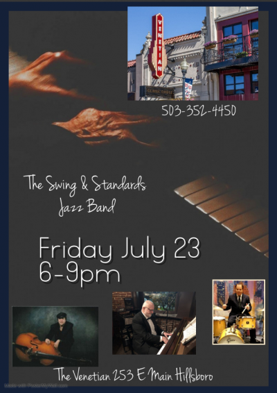 Swing & Standards Jazz Band The Venetian at The Venetian