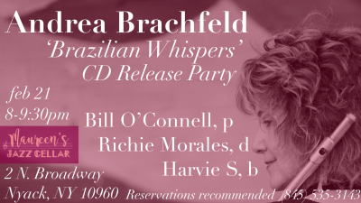 Cd Release Party For Brazilian Whispers- Andrea Brachfeld at Maureen's Jazz Cellar