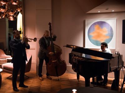 Markus Rutz Jazz Trio at The Esquire Champagne Room