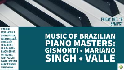 Music Of Brazilian Piano Masters II at Youtube - Portland