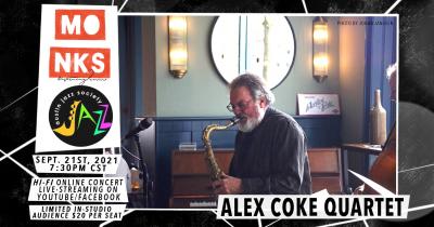 Alex Coke At Monks at Monks Jazz