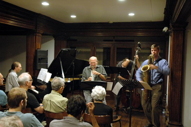 Charles Evans Quartet with Dave Liebman at Philadelphia Art Alliance