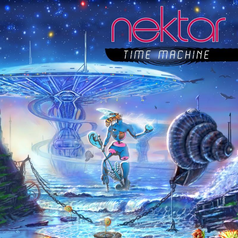 "UK Prog Legends Nektar To Release Highly Anticipated New Studio Album ""Time Machine"" –  June 18 , 2013"