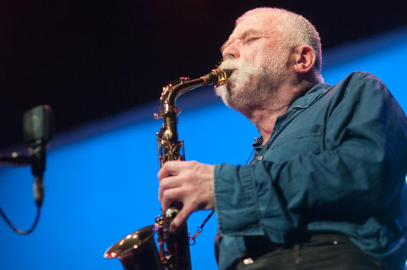 Peter Brotzmann: Vision Festival 16, June 8, 2011