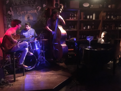 Tuesday Jazz Jam at Le Chat Noir De Salis