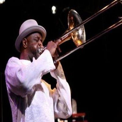 Craig Harris And Harlem Nightsongs - Guest Artist - Kelvyn Bell at Greater Calvary Baptist Church New York
