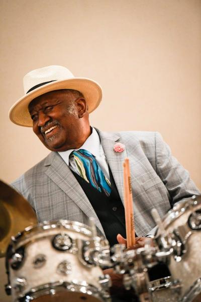 Bernard Purdie at Philadelphia Clef Club Of Jazz