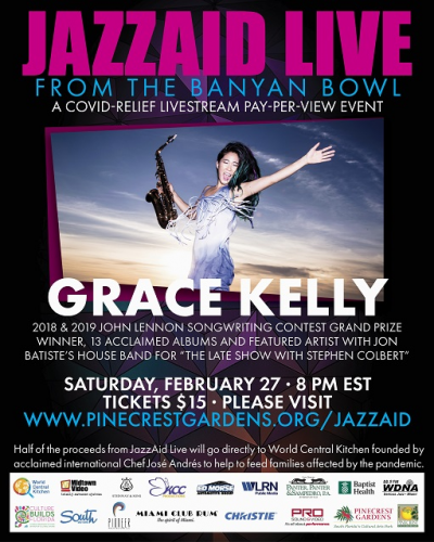 Grace Kelly Online From Miami at Online Event