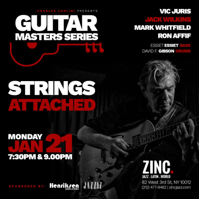 Guitar Masters Series: Strings Attached at Zinc Bar