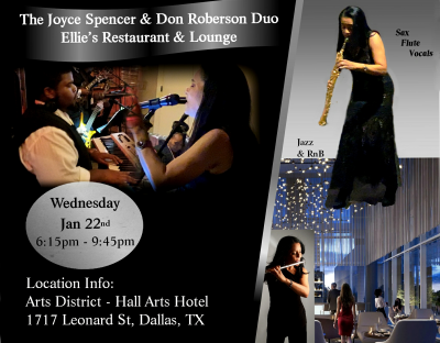 Joyce Spencer & Don Roberson Duo at Ellie's Restaurant And Lounge