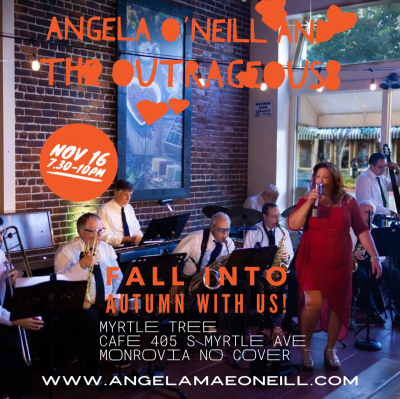 Angela O'Neill And The Outrageous8 at Myrtle Tree Cafe