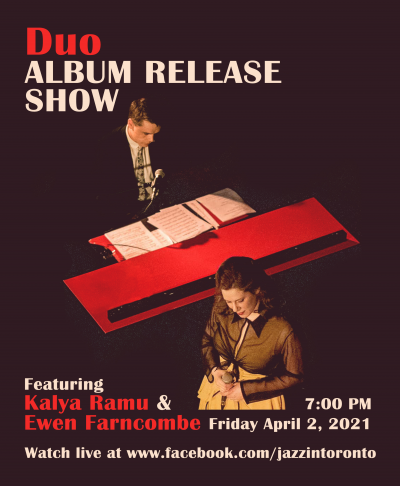 Kalya Ramu and Ewen Farncombe  Duo Ep Release Show at Facebook Live