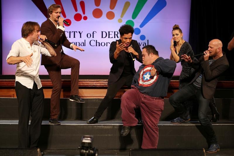 SLIXS At Derry International Choral Festival 2016