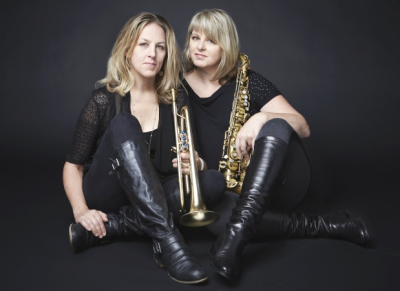 Ingrid & Christine Jensen With The Whirlwind Jazz Orchestra at Crookes Social Club