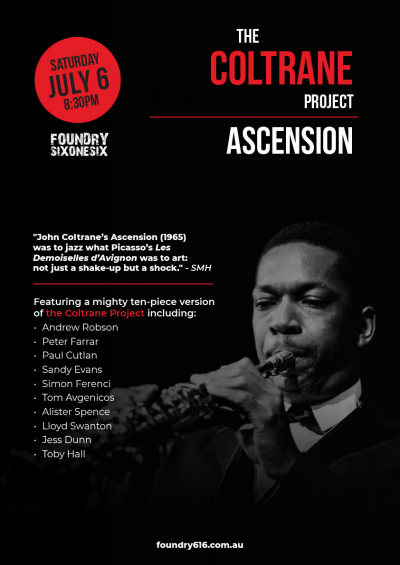 Coltrane Project - Ascension! at Foundry 616