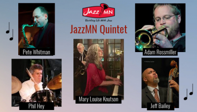 Icons Of The Jazz Sextet On Demand Show April 29th To June 24th at Chanhassen Dinner Theatre