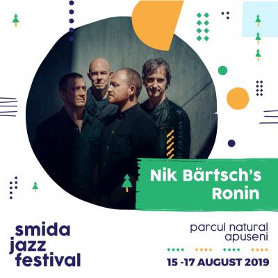 Nik Bärtsch's Ronin at Smida Jazz Festival at Smida Park