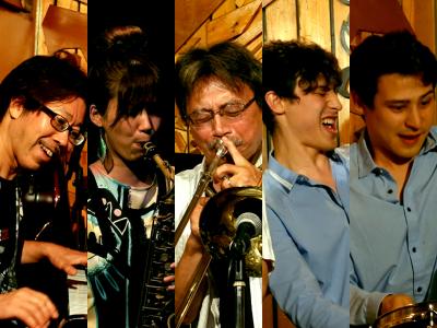 Shigeharu Mukai Band Feat. The Maguire Twins at Shinjuku Someday