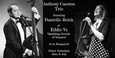 Danielle Reich & Anthony Caceres Trio at Eddie V's (City Centre)