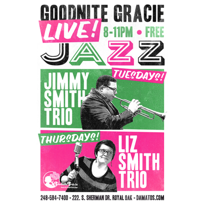 Liz Smith Trio at Goodnite Gracie