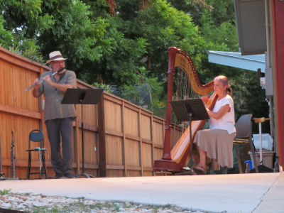 Driveway Concerts-Alex Coke and Elaine Barber at Alex Coke Concerts