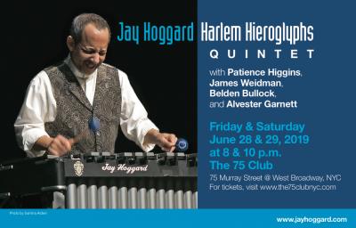 Jay Hoggard's Harlem Hieroglyphs Quintet at The 75 Club