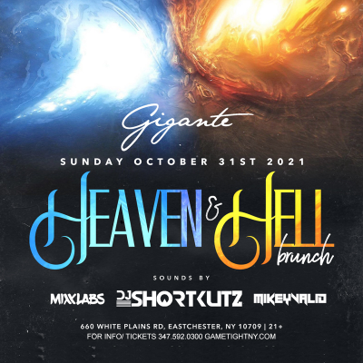 Gigante Ny Halloween Brunch Party 2021 at Gigante Restaurant & Bar