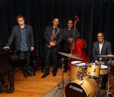 Jazz For Peace Collective: Laszlo Gardony, Yoron Israel, Ron Mahdi, Bobby Tynes at Great Hall, Faneuil Hall