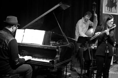 Jamie Baum Trio with Andy Milne & Joe Martin at Soapbox Gallery