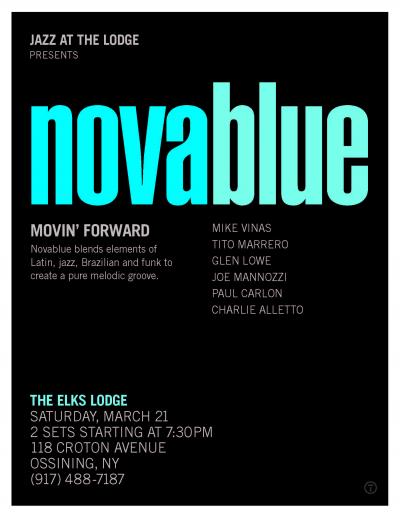 Novablue at Jazz At The Lodge