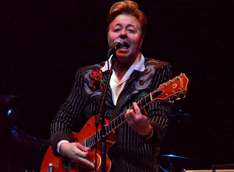 The Brian Setzer Orchestra 2017 Christmas Rocks! Tour at the NYCB Theatre at Westbury