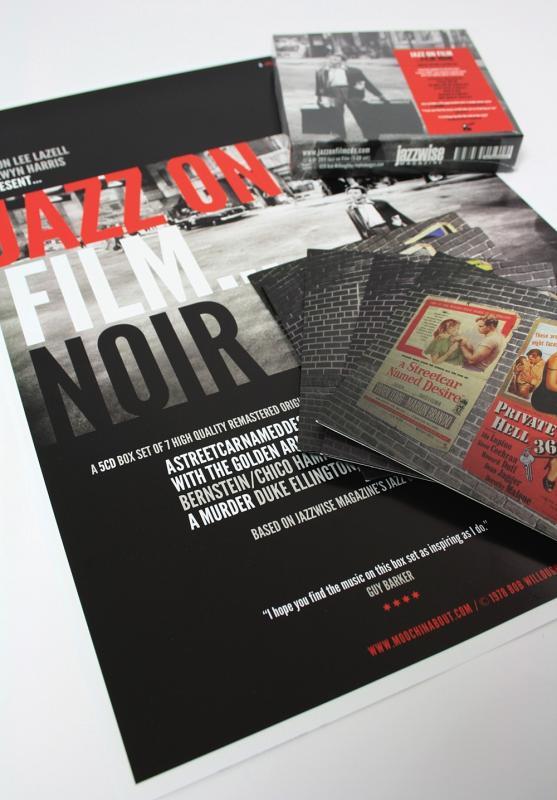 Jazz on Film... Film Noir (Limited Edition 5-CD box set) on Moochin' About