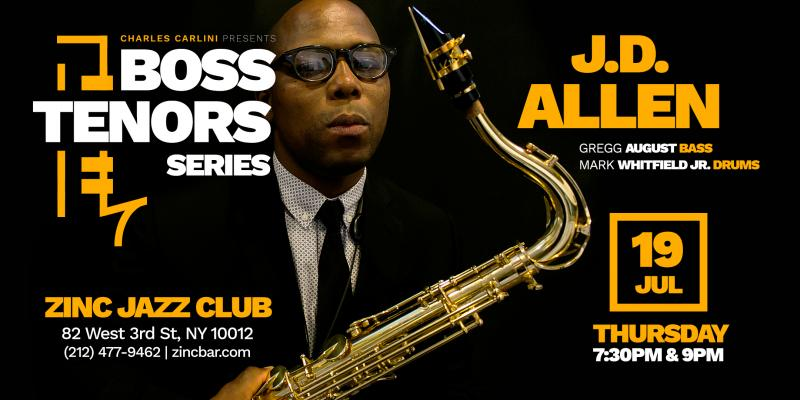 Boss Tenors Series A Regular Feature At New York's Zinc Jazz Club